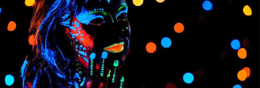Peintures fluorescentes